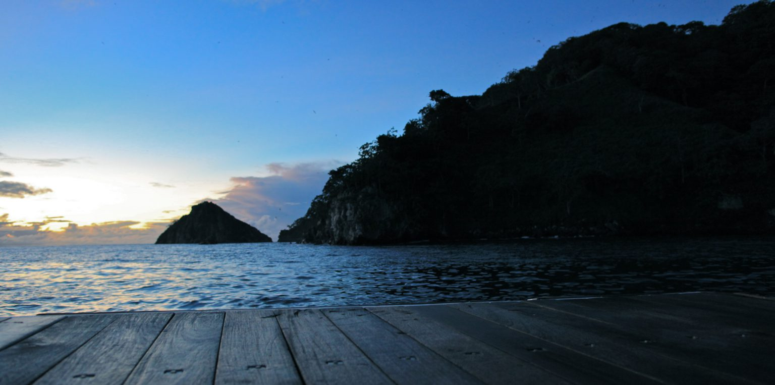 Isla del Cocos Ankunft im Morgengrauen